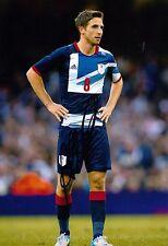 JOE ALLEN LIVERPOOL FC, SWANSEA, STOKE CITY AUTHENTIC HAND-SIGNED PHOTO