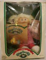 1984 Vintage Cabbage Patch Kids Girl Doll Debi Elenore w/Pacifier & Papers Retro