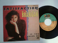 "Laura Branigan / Satisfaction 7"" Vinyl Single 1982 mit Schutzhülle"