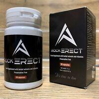 Ottieni un'erezione hard rock con RockERECT 30 Capsule 100% ingredienti naturali