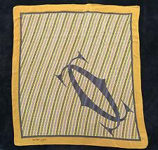 Authentique Foulard Must de Cartier / Authentic Must de  Cartier Scarf