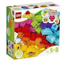 LEGO Duplo My First Bricks Building Blocks Set 80 Pieces Multi Colour 18+M New