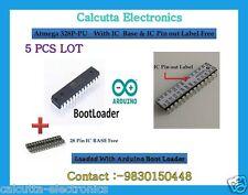 5 Pcs ATMEGA328P-PU MCU/ ARDUINO UNO R3 Bootloader,IC Label/ IC Base Free