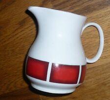 1 Milchkännchen     Winterling  KIRCHENLAMITZ   Rote breite Streifen
