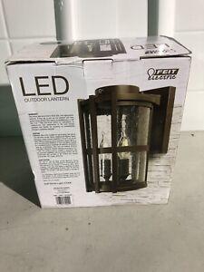 Feit Electric 11 LED Round Coach Lantern Soft White Light 15,000 Hours 1315646