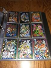 1999 Digimon Adventure 2 Japanese Issue Prism Refractor Holo Set (9) *Impossible