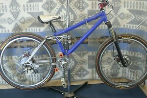 "Storm Cycles Corner Worker MTB Full-Sus Vintage USA Made 26"" FOX Azonic Charity!"