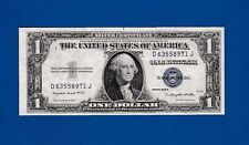 Fr.1617   $1  1935 G  WITH MOTTO  SILVER CERTIFICATE SN C 63558971 J GEM