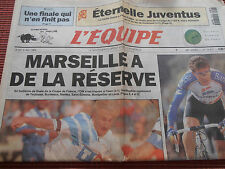 JOURNAL L'EQUIPE / MARSEILLE  / OM /  COUPE DE FRANCE / 06 / 05 / 1993 ( ref c )