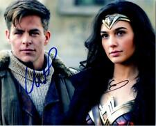 Chris Pine and Gal Gadot 8x10 signed photo autographed Picture + COA