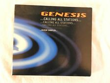"""Genesis """"Calling All Stations"""" BRAND NEW PROMO ONLY CD! NEVER PLAYED!"""