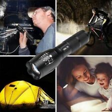 10000 Lumen Zoomable XM-L Q5 LED Flashlight Torch Lamp Light Waterproof