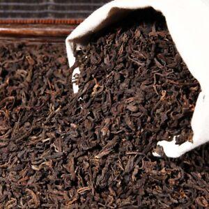 Ripened Puerh Tea Yunnan Black Puer Tea China Bulk Cooked Pu-erh Tea Loose Leaf
