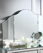 Mokella Frameless Modern chic Tri-Fold Vanity Mirror New in box