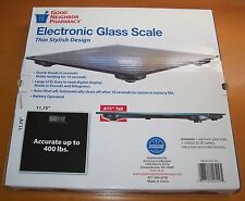 Electronic Glass Scale LCD Accurate to 400 LB MAX – New in box