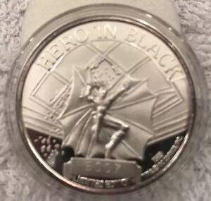 1989 Hero IN Black Silver Coin #5007