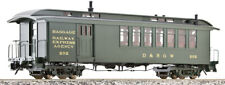 Accucraft AM54-021 D&RGW Combine Car, green, 1:20.3 scale, different numbers