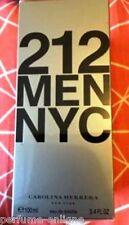 Carolina Herrera 212 3.4oz 100ml Men Eau de Toilette 100%25 Original & Sealed Box