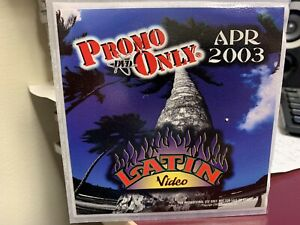 PROMO ONLY LATIN DVD APRIL 2003 VIDEO SERIES NEW