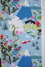 "Lotta Kuhlhorn ALPINE Canvas Panel Design 2008 IKIA of Sweden Fabric 96"" x 60"""