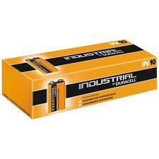 Duracell Industrial Alkaline 9v MN1604   6LR61 Battery - Pack of 10