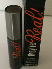 BNIB Benefit They're real! beyond mascara in black travel size 3g RRP 8.5g £20.5
