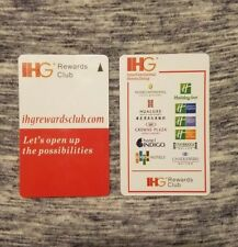 IHG Hotel Room Key Card, Holiday Inn IHG Rewards Card, contains 1