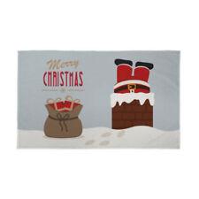 Pancartas y guirnaldas de fiesta multicolores de navidad, navidad