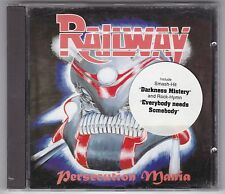 Railway-PERSECUTION MANIA-RARE CD 1995 Steeler/Keel-Top