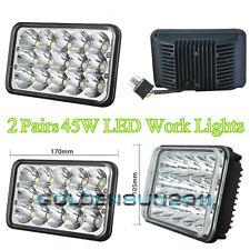 LED Headlights For Kenworth T800 T400 T600 W900B W900L Classic 120/132 2 Pairs
