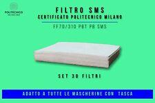 FILTRO PM/TNT/SMS CERTIFICATO POLITECNICO MILANO