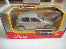 Bburago burago Fiat Bravo in Grey on 1:43 in Box