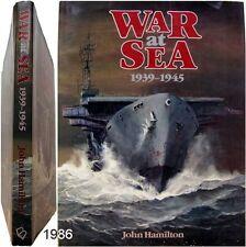 War at Sea 1939-45 paintings John Hamilton 1986 ww2 guerre navale marine