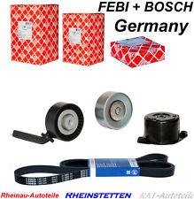 BOSCH 6PK2080+Keilrippenriemensatz BMW 3 E46 5 E60 E61 6 E63 7 X3 E83 X5 E53
