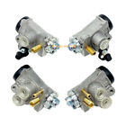 4x Front Brake Wheel Cylinders Left Right for Honda TRX450 Foreman 4x4 1998-2004