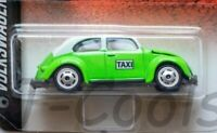 Majorette 1971 Volkswagen (VW) Sedán (Beetle type 1) Mexico City Taxycab  [1:64]
