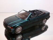 SCHABAK 1605 BMW 325 E36 CABRIOLET - GREEN METALLIC 1:24 - VERY GOOD (1)