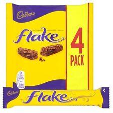 Cadbury Flake Chocolate Bar, 80 g (Pack of 4)