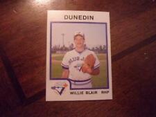 1987 DUNEDIN BLUEJAYS ProCards Single Cards YOU PICK FROM LIST $1 each OBO