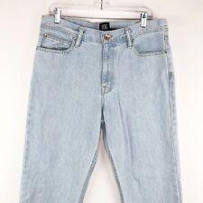 BDG 33 x 32 Jeans Slim Mens Pants Light Wash Waist  actual meausres 34 x 30