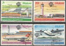 MALAWI 1981 INTL COMMUNICATIONS Sc#382-5 COMPLETE POSTAL VF USED SETS 0585