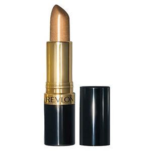 (3) Three Revlon Super Lustrous Lipstick, 041 Gold Goddess