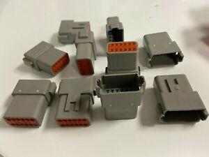 Deutsch DT04-12PA DT Connector (Pack of 8)