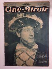 CINE MIROIR N°632 14 MAI 1937 COUV SACHA GUITRY
