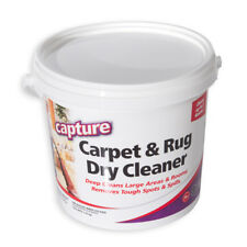 Carpet and Rug Dry Cleaner Cleaning Solution No Water Tough Stain Capture 40-oz
