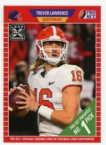 2021 Leaf Pro Set Trevor Lawrence RC ROOKIE #PS1 XRC MINT QTY RARE