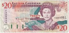 More details for 1993 | st. lucia elizabeth ii 20 dollars banknote | banknotes | km coins