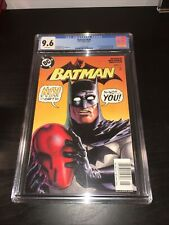 Batman #638 CGC 9.6 Newsstand Variant Jason Todd as Red Hood Joker Black Mask