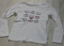 5228 - T-shirt ML 5 ans blanc OKAIDI renard