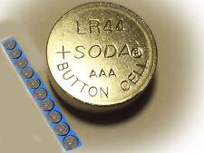 10x Pila de botón AG13 357A LR44 SR44SW SP76 L1154 RW82 RW42